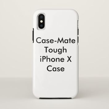 Personalized Case-Mate Tough iPhone X Case