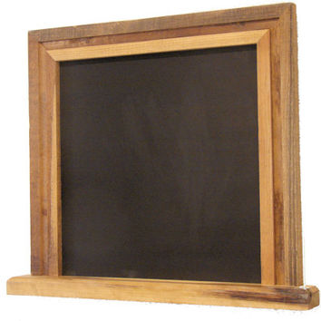 Framed Chalk Board - Barn Wood Chalk Board - Reclaimed Wood Chalk Board - Home Decor - Rustic Decor