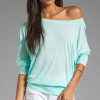 Lanston Boyfriend Sweatshirt in Mint