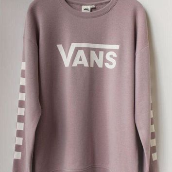 ESBON VANS Fashion Casual Long Sleeve Sweater Pullover Sweatshirt