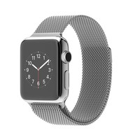 Apple Watch - 38mm Stainless Steel Case with Milanese Loop