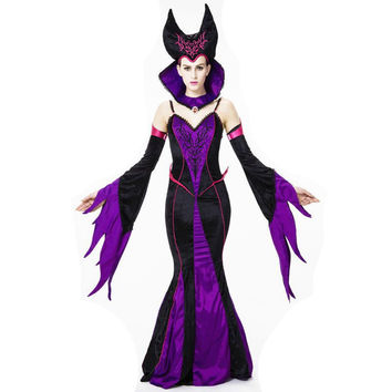Witch costume Vampire Carnival Halloween costumes for women cosplay costume vestidos medievais victorian dress disfraces roupas
