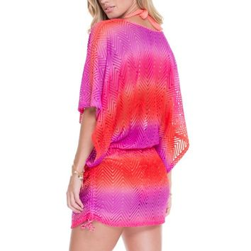 Luli Fama Summer Dress - Sunset Angel