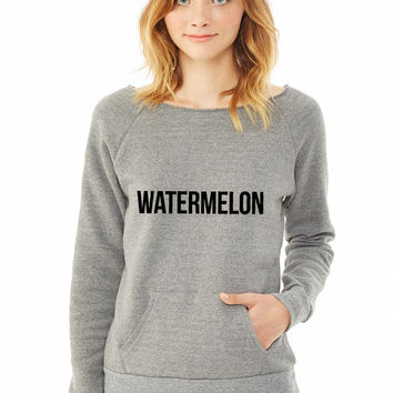 Watermelon ladies sweatshirt