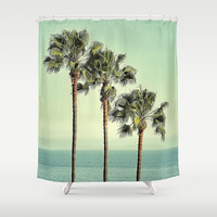 Three Day Weekend Shower Curtain by RichCaspian