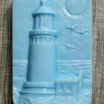 lighthouse goat's milk soap