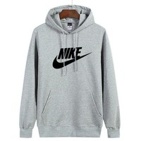 Nike Women Man Fashion Print Sport Casual Top Sweater Pullover Hoodie