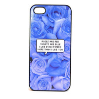 I Like Evan Peters More Than I Like You Roses Phone Case