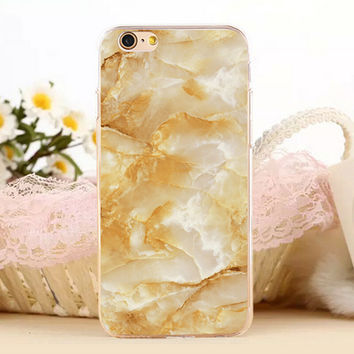 Beautiful Marble Stone Protect iPhone 5s 6 6s Plus Case + Gift Box-131