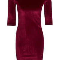 **Velvet Bodycon Mini Dress by Rare - New In This Week - New In