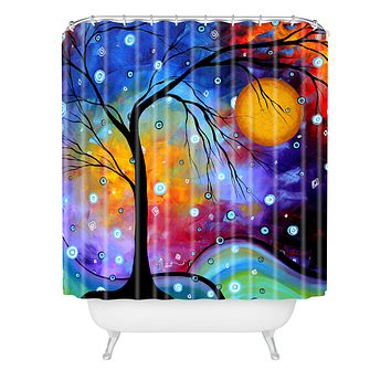 Madart Inc. Winter Sparkle Shower Curtain