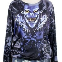 Street-chic Monster Sweatshirt