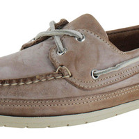 Sebago Men's Schooner Leather Boat Shoes Oxfords