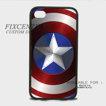 Captain America shield Rubber Cases for iPhone 4,4S, iPhone 5,5S, iPhone 5C, iPhone 6, iPhone 6 Plus, Samsung Galaxy S3, Samsung Galaxy S4, Samsung Galaxy S5  phone case design
