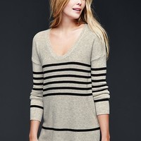 Gap Women Brooklyn Stitch Stripe Pullover Sweater