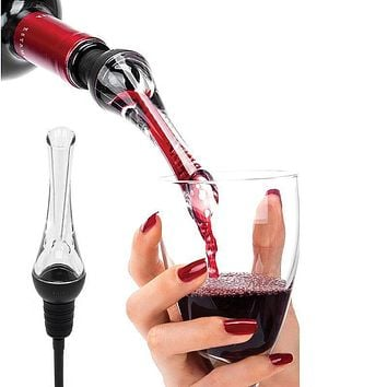 Red Wine Aerator&Pourer Decanter Whiskey Aerating Spout Pourer Home Party Banquet Barware Kitchenware Bar Tools Wine Accessories