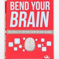 Bend Your Brain: 151 Puzzles, Tips, And Tricks To Blow (And Grow) Your Mind By Marbles: The Brain Store- Assorted One