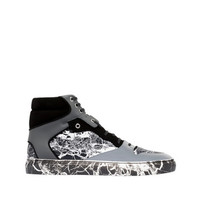 Balenciaga Marble High Sneakers Black - Men's Sneaker
