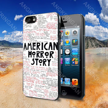 American Horror Story   - iPhone 4 4S iPhone 5 5S 5C and Samsung Galaxy S2 S3 S4 Case