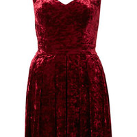 Topshop - Velvet Heart Back Prom Dress By Dress Up Topshop** customer reviews - product reviews - read top consumer ratings