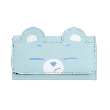 Care Bears Grumpy Bear Flip Wallet
