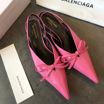 Balenciaga Women Fashion Casual Low Heeled Shoes