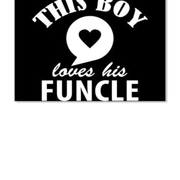 Funcle Uncle Nephew Shirt Gifts