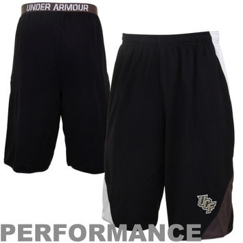 Under Armour UCF Knights Clipper Performance Shorts - Black