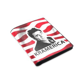 Seinfeld Cosmo Kramer Kramerica Men's or Womens's Leather Wallet