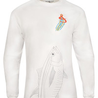 Men's Giant Tuna L/S UV Fishing T-Shirt