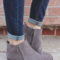 Salem Booties - Grey