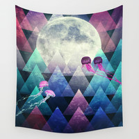 Sleeping Forest Wall Tapestry by SensualPatterns
