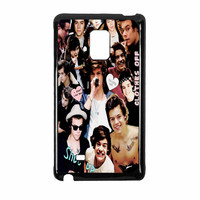 Harry Styles One Direction Collage Clothes Off Samsung Galaxy Note Edge Case