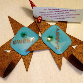 Sweet and Sassy Stocking Hangers by Design4Soul