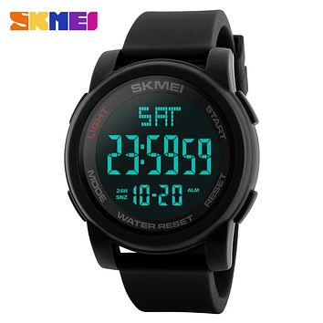 SKMEI 1257 Men Sport Watches Men's LED Digital Watches Outdoor Military Electronics Wrist Watch Relogio Masculino