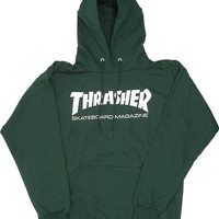 Thrasher Skate Mag Hoodie/Sweater Small forest Green