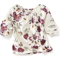 Old Navy Long Sleeve Floral Shirt