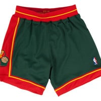 Seattle SuperSonics 1995-1996 NBA Authentic Shorts