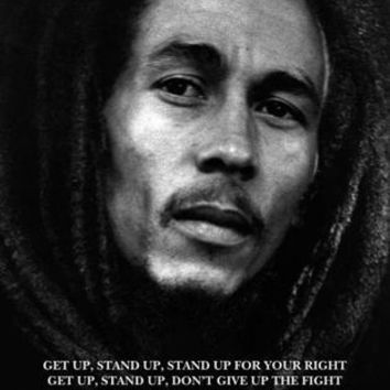 Bob Marley: Get Up Stand Up Unknown Art Print