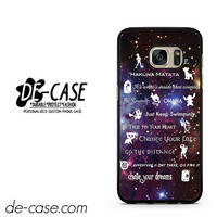 You'll Want To Keep Forever And Ever Peter Pan DEAL-12174 Samsung Phonecase Cover For Samsung Galaxy S7 / S7 Edge