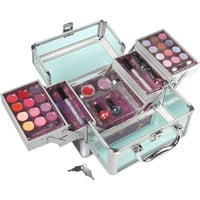 tm! Cosmetic Train Case - Clear