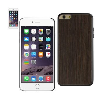 New Real Wood Slim Snap On Case In Black For iPhone 6 Plus By Reiko