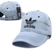 Denim Blue ADIDAS Golf Baseball Cap Hat