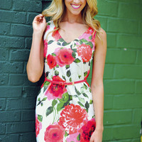 EVERLY: In Full Bloom Floral Dress | Hope's