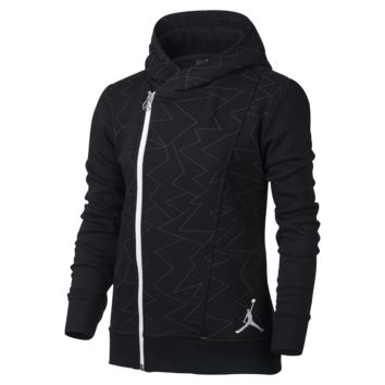 Jordan Red Label Angels Faux Quilted Girls' Jacket, by Nike