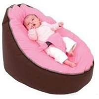 Soft Comfortable Baby Bean Bag Seat Baby Bed, Two Top Seat Covers,Baby Bed Cover Without Filling wat