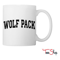 Wolf Pack-block Coffee & Tea Mug