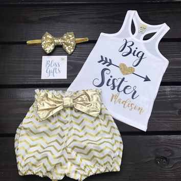 Big Sister Shirt | Big Sister Announcement | Little Sister Shirt | Girls Big Sister Shirt | Big Sis Shirt | Promoted Big Sis | Promoted Big