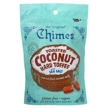Chimes Toasted Coconut Hard Toffee with Sea Salt