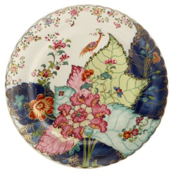 Mottahedeh Tobacco 10.5 Inch Dinner Plate